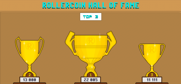 Hall Of Fame is opened and waiting for YOUR NAME. Final countdown of the Crowdsale.