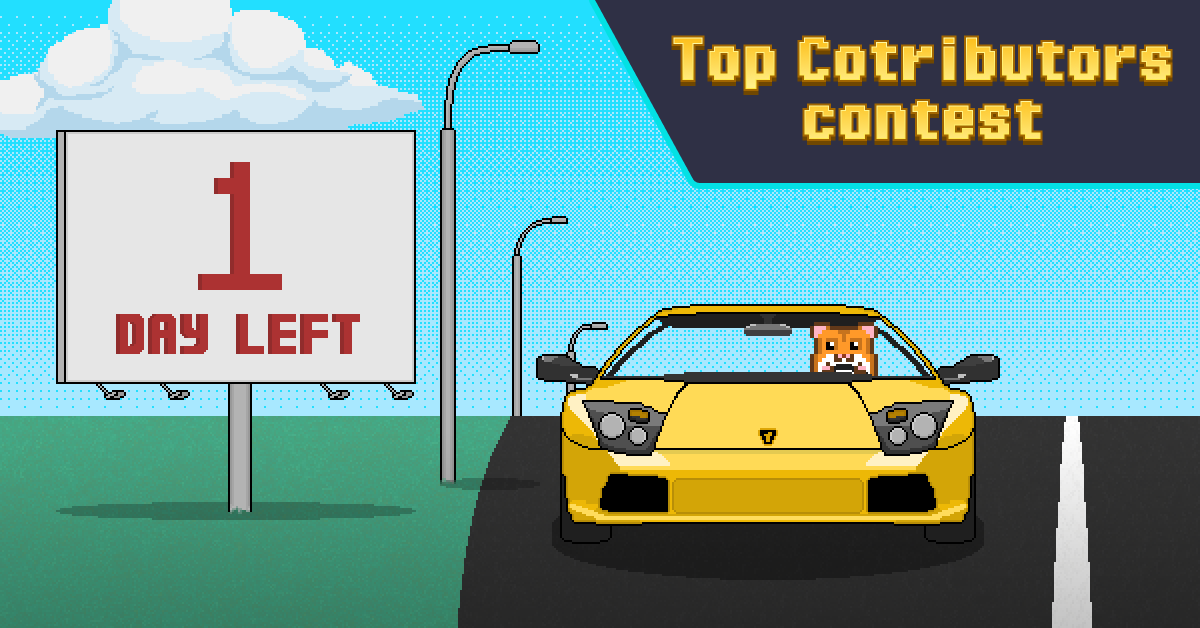 1 Day of the Top Contributors Contest left
