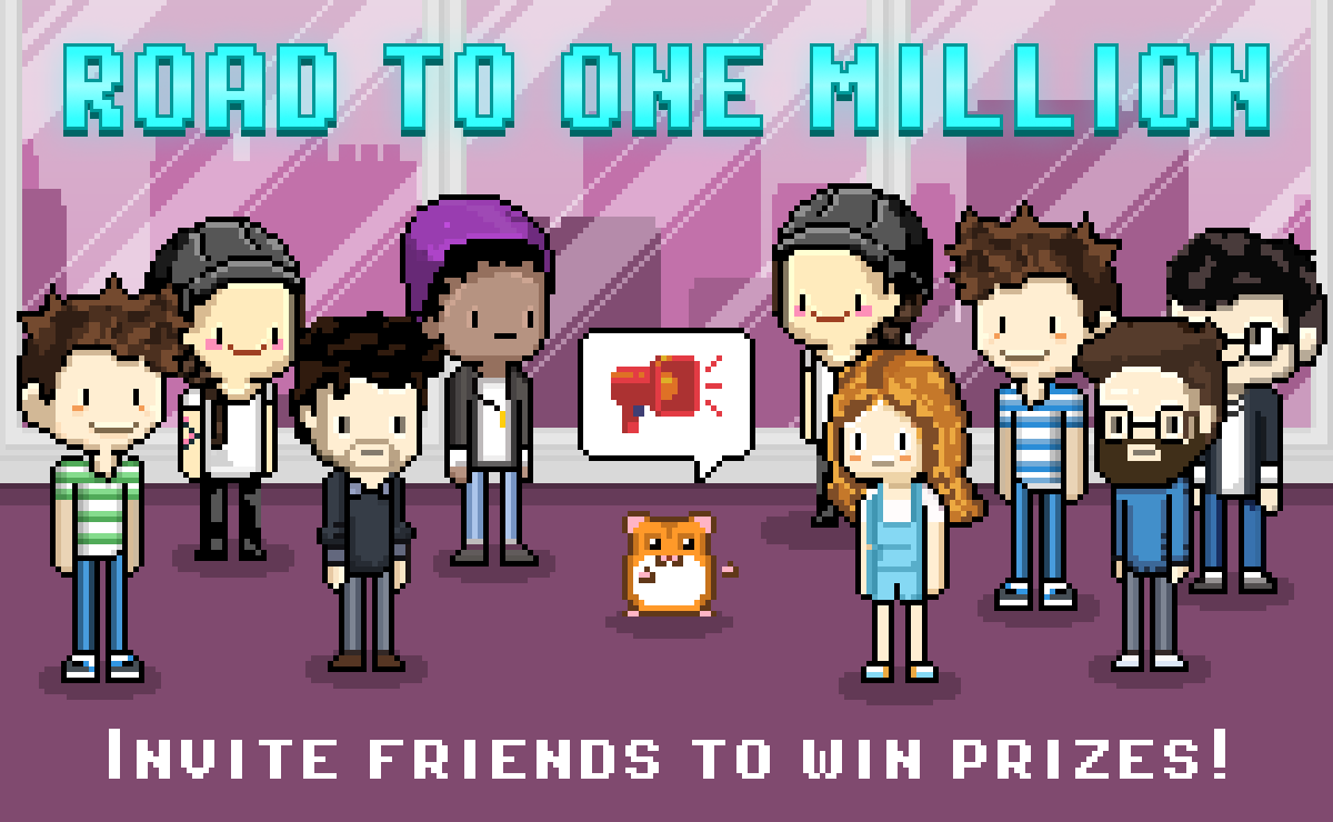 The Road to One Million Contest