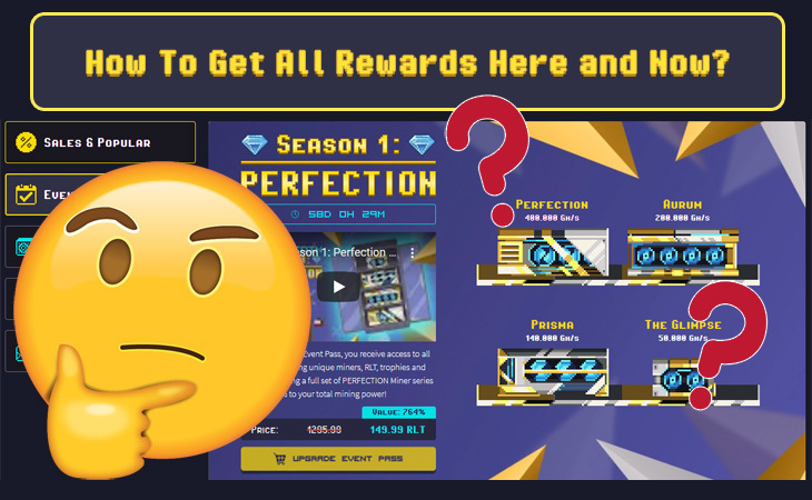 Event Pass. How To Get All Rewards Here and Now?