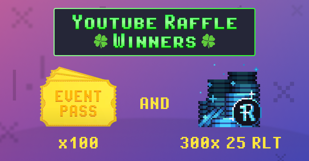 Event Pass Winners are Here – Youtube-Raffle Contest Results